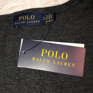 POLO Ralph Lauren classic tee grey NWT  sz L
